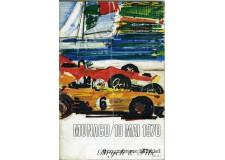 Programme Grand Prix Monaco 1970 Avec Signatures