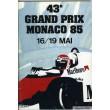 Programme Grand Prix Monaco 1985