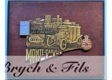 MONACO (1997) PLAQUE MONACO PLAQUE 65e RALLYE MONTE CARLO 1997