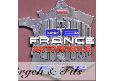 FRANCE (1964) BADGE DE CALANDRE XIIIe TOUR DE FRANCE AUTOMOBILE 1964