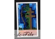 1977 POLYNESIE PA N°123 NON DENT. MEMORIAL DE GAULLE xx