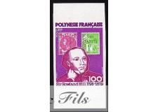 1979 POLYNESIE N°141 NON DENTELE SIR ROWLAND HILL xx