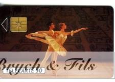 TELECARTE MONACO BALLETS DE MONTE CARLO MF8