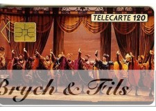 TELECARTE MONACO FRENCH CANCAN MF11