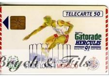 TELECARTE MONACO GATORADE HERCULIS 91 MF15