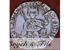 FRANCE/PROVENCE : Robert d'Anjou 1309-1343, Carlin d'argent