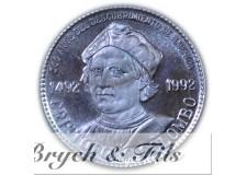 CHRISTOFORO COLOMBO Médaille argent 1492-1992