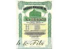 GRANDS MAGASINS DE LA BOURSE, BRUXELLES