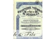 RAFFINERIE NATIONALE DE PETROLES, BRUXELLES