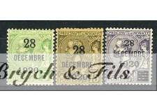 1921 MONACO N°48/50 TIMBRE POSTE PRINCESSE ANTOINETTExx