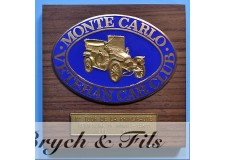 MONACO PLAQUE VETERAN CAR CLUB MONTE CARLO