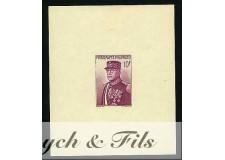 1938 MONACO BLOC N°01 NON DENTELE AVEN. PRINCE LOUIS x