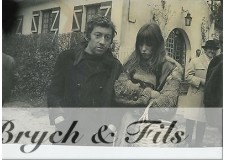 PHOTO ARGENTIQUE TIRAGE ORIGINAL SERGE GAINSBOURG ET JANE BIRKIN PAR P.BERTRAND