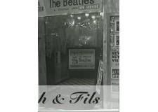 PHOTO ARGENTIQUE TIRAGE ORIGINAL THE BEATLES AFFICHE 1963 PAR PATRICK BERTRAND