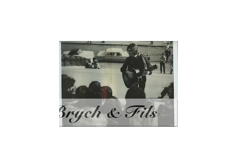 PHOTO ARGENTIQUE TIRAGE ORIGINAL MICHEL POLNAREF 1965 PAR PATRICK BERTRAND