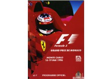 Programme Grand Prix Monaco 1996