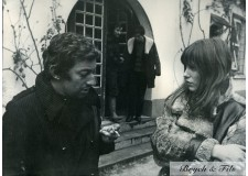 GAINSBOURG BIRKIN PHOTO  ARGENTIQUE 2 TIRAGE ORIGINAL PAR PATRICK BERTRAND