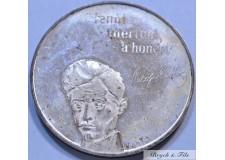HONGRIE 100 FORINT 1973 EN ARGENT
