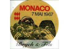 MONACO - GRAND PRIX  7 MAI 1967