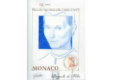 MONACO EPREUVE D'ARTISTE NICCOLO MACCHIAVELLI