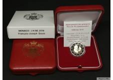 Belle Epreuve PROOF 2 Euro Monaco 2018 BOSIO