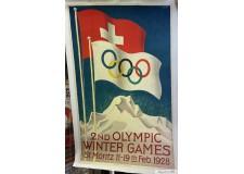 II° Jeux Olympique d'hiver St Moritz 1928