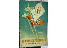 VI° Jeux Olympique d'hiver Oslo 1952