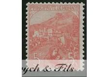 1919 MONACO N°33 TIMBRE POSTE ORPHELINS x