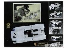 Autographe Photo Dédicacée Photo Steve Mac Queen Porsche 908