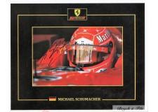 Autographe Photo Dédicacée Michael Schumacher F1 Ferrari