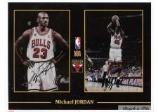 Autographe Photo Dédicacée Michael Jordan NBA Chicago Bulls
