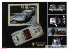 Autographe Photo Dédicacée James Dean dans sa Porsche 550 Spyder