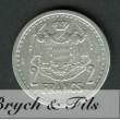2 Francs Louis II de Monaco Aluminium Sans Date