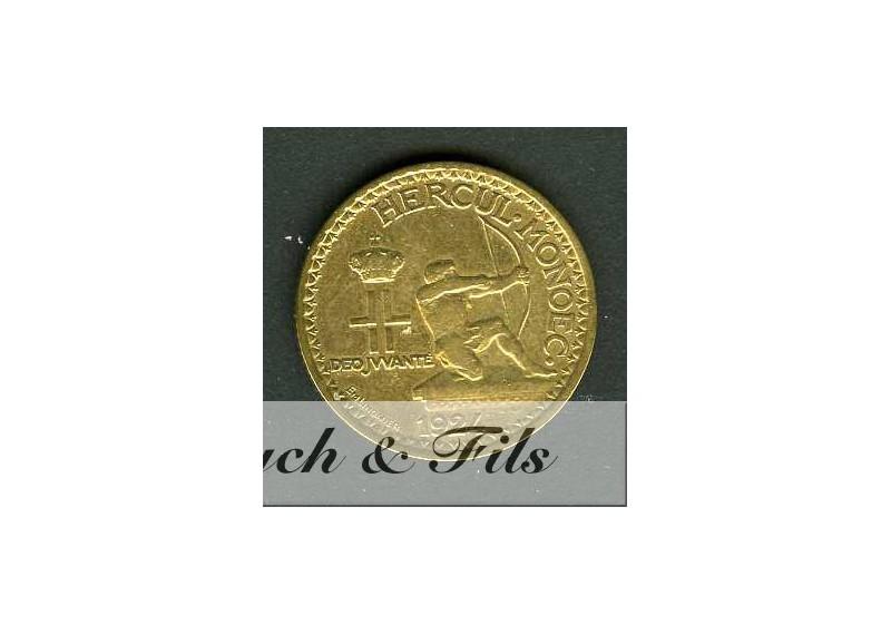 1 FRANC LOUIS II 1924