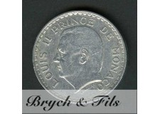 5 FRANCS LOUIS II 1945