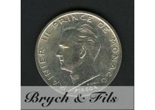 5 Francs Argent Monaco 1960 Rainier III
