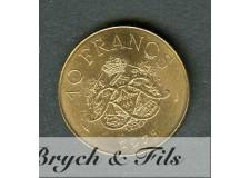 10 FRANCS DE MONACO 1975