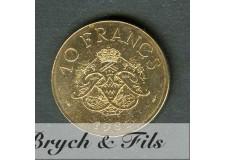 10 FRANCS DE MONACO 1981