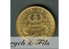 10 FRANCS FONDATION PRINCE PIERRE 1989