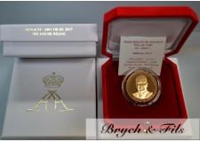 Belle Epreuve 100 Euro Or Monaco 2015 Dix Ans de Règne