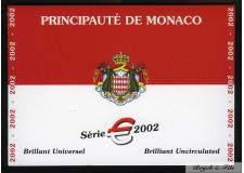 Euros de Monaco Brillant universel de Monaco 2002