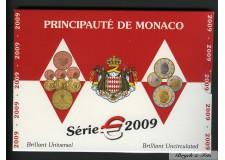Euros de Monaco Brillant Universel de Monaco 2009 S.A.S. Albert II