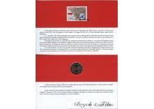 Encart 2 euro Monaco 2013 20 ans de l'admission à l'ONU avec son timbre