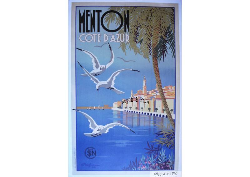 Menton Côte d'Azur 1935