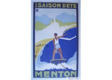 Menton saison d'été 1932