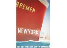 Norddeutscher Lloyd Bremen New York