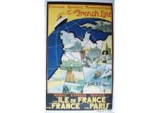 """French Line """"Ile de France"""""""