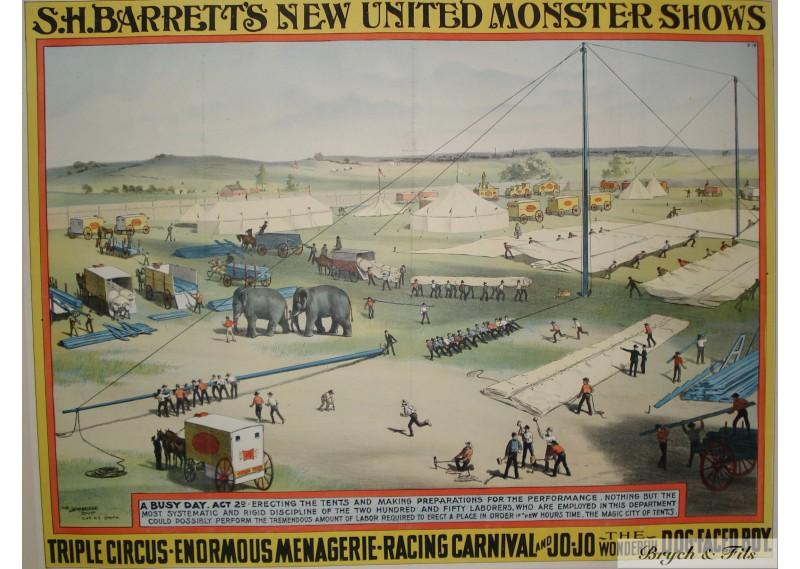 S.H.Barretts New United Monster Shows