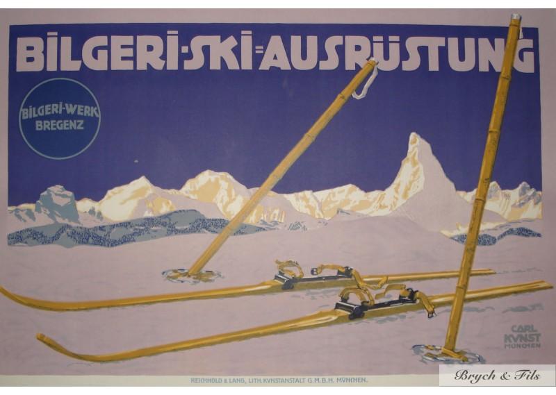 Bilgeri-Ski Anstrustung
