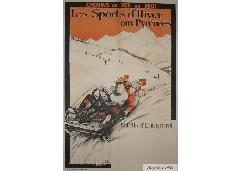 Les Sports d'Hiver aux Pyrénées